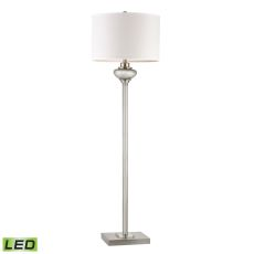 Edenbridge Antique Mercury Glass Led Floor Lamp With Led Nightlight