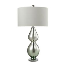 Double Gourd Table Lamp In Light Green Mercury