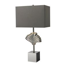 Vergato Solid Brass Table Lamp In Polished Chrome