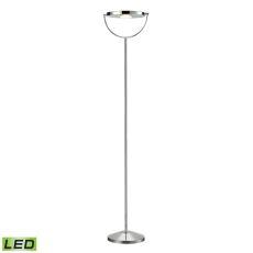 Sanford 2 Light Led Floor Lamp In Polished Chrome