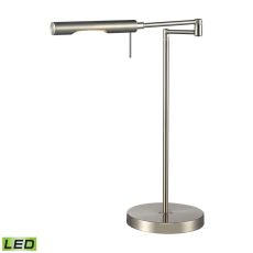 Laonia Adjustable Led Desk Lamp In Polished Chrome