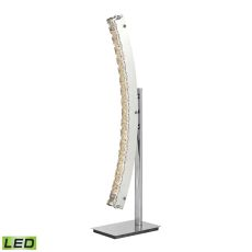 Stylo Led Table Lamp In Polished Chrome