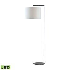 Bronze Stem Led Floor Lamp