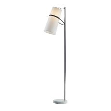 Banded Shade Floor Lamp