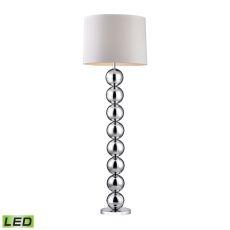 Chrome Orb Led Floor Lamp
