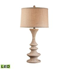 Wrapped Rope Led Table Lamp