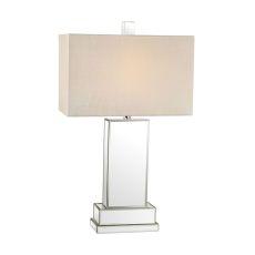Mirror Block Table Lamp