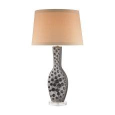 Silkfloss 1 Light Table Lamp In Bronze Glaze
