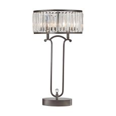 Rudolfo 2 Light Table Lamp In Bronze