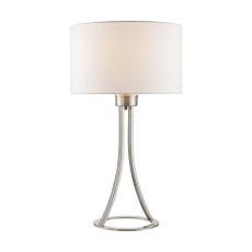 Alder 1 Light Table Lamp In Gold Plate