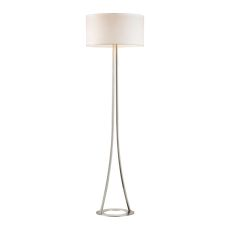 Alder 2 Light Table Lamp In Gold Plate
