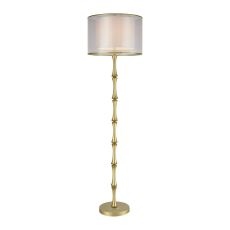 Palais Princier Aged Gold Floor Lamp