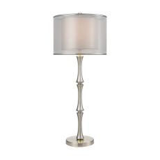 Palais Princier Satin Nickel Table Lamp
