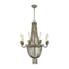 Cote Des Basques Shell Chandelier