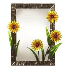 Large Wall Mirror Daisies