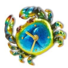 Blue Crab Magnetic Clock