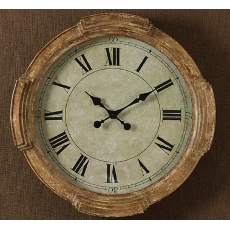 Distressed Wood  Clock