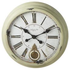 Distressed Sage Pendulum Clock