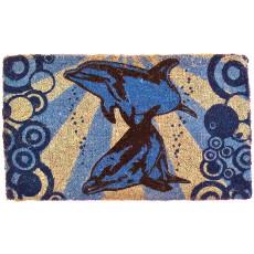 Dolphins Underwater Coco Doormat