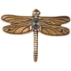 Dragonfly Brass Doorbell