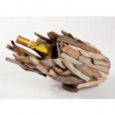 Driftwood Single Wine Bottle Holder