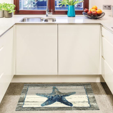Driftwood Starfish Rug, 22 x 34 in.