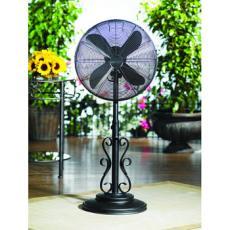 Deco Breeze Ebony 19 Inch Outdoor Fan