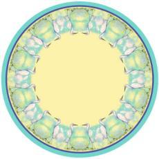 Egret Round Table Cloth