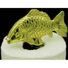 Fish Brass Paper Towel Holder