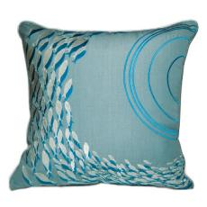 School of Fish Indoor/ Outdoor Pillow