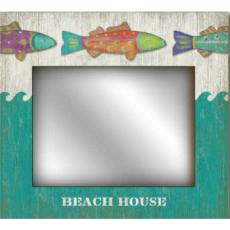 Funky Fish Personalized Mirror
