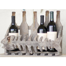 Reclaimed Fish Wine Rack
