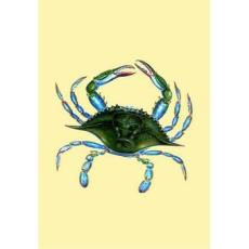 Female Blue Crab Designer Flag