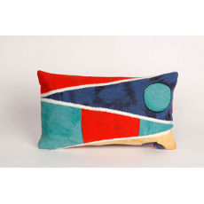 Nautical Flag Oblong Indoor Outdoor Pillow