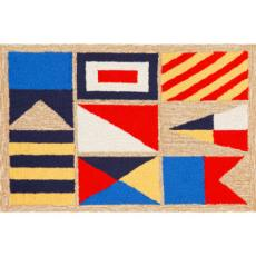 Signal Flags Indoor Outdoor Rug