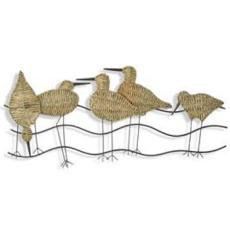 Flock of Birds Metal Wall Decor