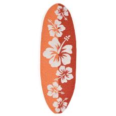 Floralboard Orange Indoor Outdoor Rug