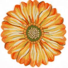 Sunflower Indoor Outdoor Rug