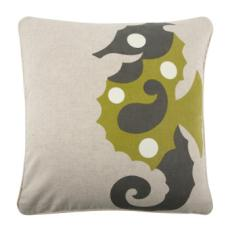 Sea Horse Flax Pillow