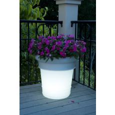 Garden Glow Solar Light Outdoor Planter