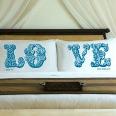 Couples Personalized Pillow Case Set