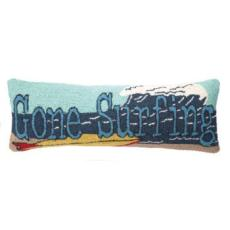 Gone Surfing Hook Pillow