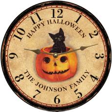 Happy Halloween Clock
