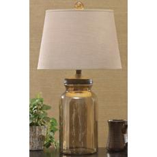Hammered Lamp
