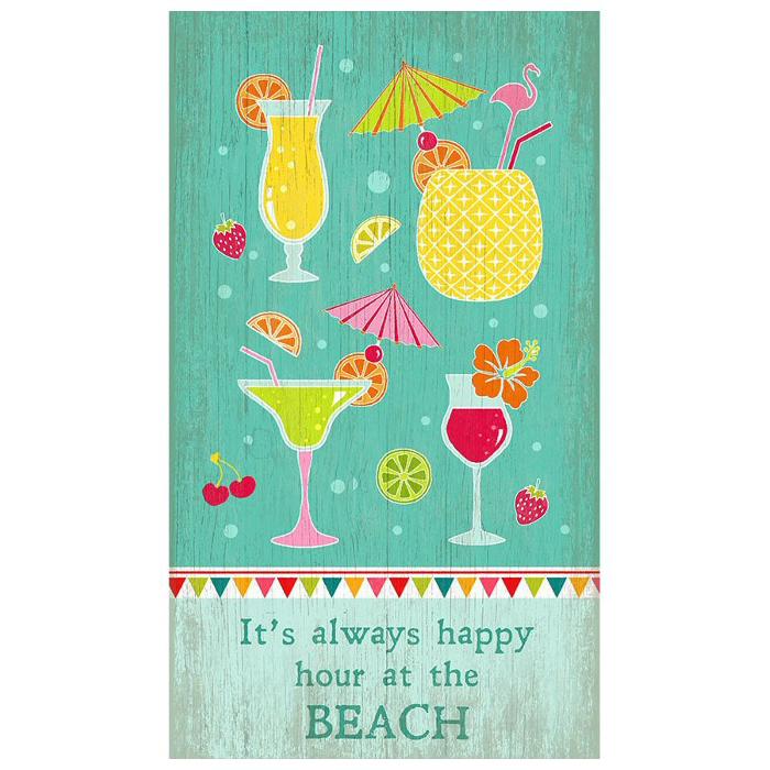 Happy Hour Beach Sign