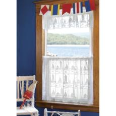Lighthouse and Sailboat Valances and Tiers