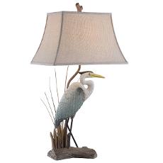 Natural Heron Table Lamp