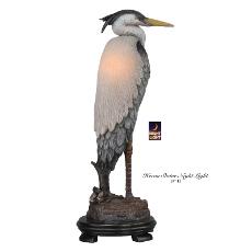Heron Statue Nightlight Lamp