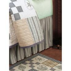 Hightide Shells Dust Ruffle Bed Skirt
