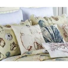 Historie de la Mer Pillow Sham